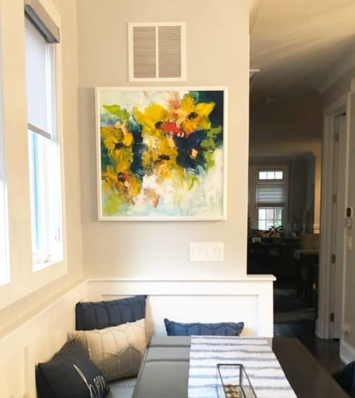 Paintings by Wendy McWilliams seen at Private Residence, Chicago - Abstract Painting
