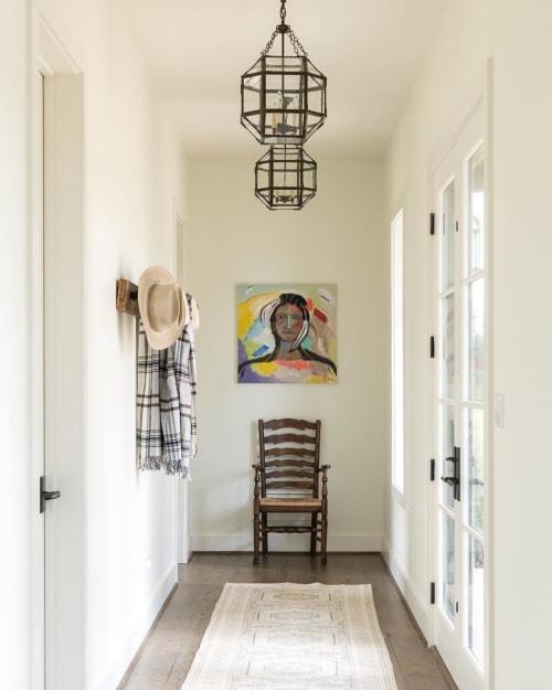Paintings by Studio Greer Rōbear seen at Private Residence, Houston - Face
