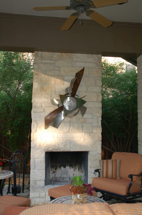 Art & Wall Decor by Bruce A. Niemi seen at Private Residence, Fort Worth - In The Beginning II