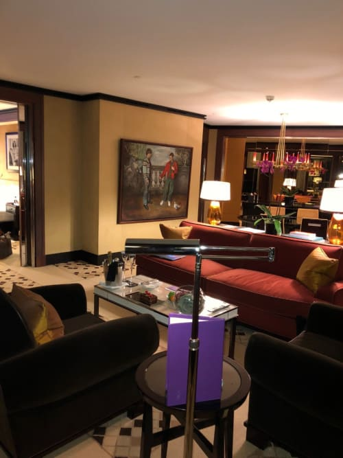 Paintings by Christian Furr seen at 45 Park Lane, London - Christian Furr at 45 Park Lane (Dorchester Collection)