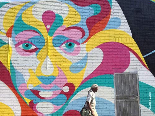 Street Murals and Murals by Sanithna Phansavanh