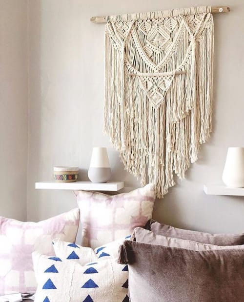 Macrame Wall Hanging by Maya Slininger seen at Muse California, San Anselmo - Caspian
