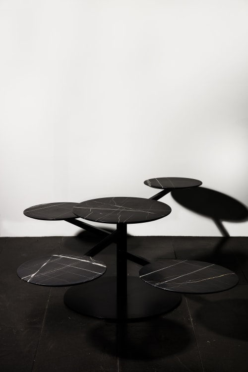 Interior Design by 1Nayef Francis seen at Nayef Francis Design Studio, Beirut - Orbit Table