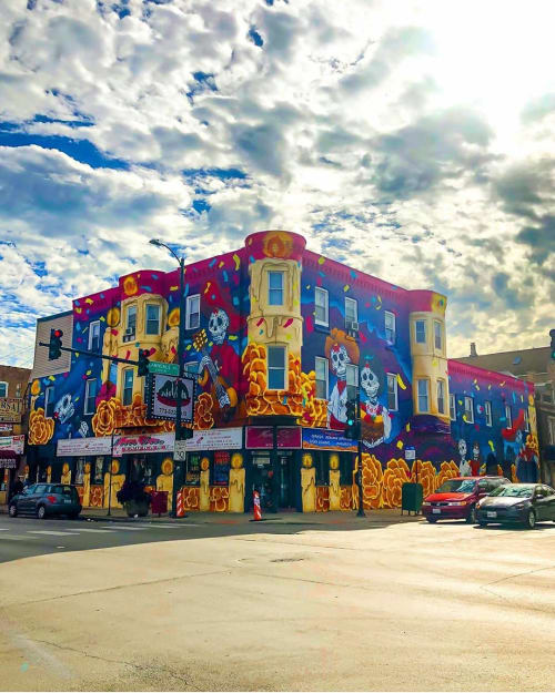 """Elizabeth """"BeL"""" Reyes - Street Murals and Murals"""