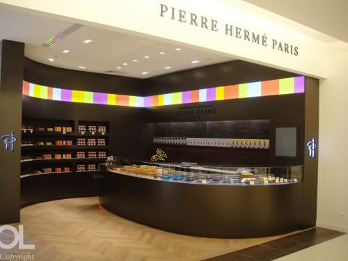 Interior Design by Helene & Olivier Lempereur seen at Maison Pierre Hermé, Paris - Interior Design