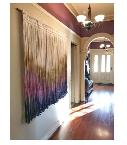 Wall Hangings by Creating Knots by Mandy Chapman seen at Private Residence, Sorrento - Wall Hanging