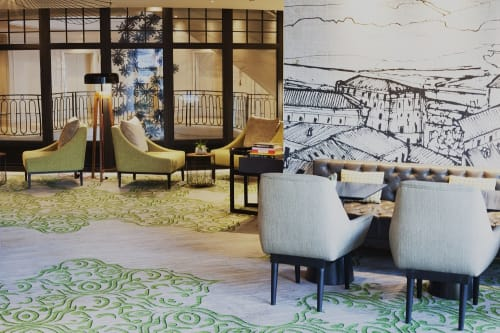 Interior Design by Virserius Studio seen at Paris, Paris - Renaissance Paris La Defense Hotel