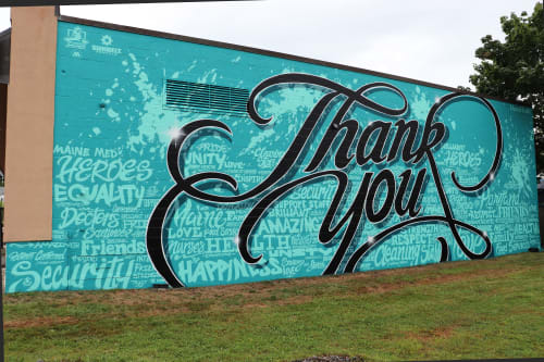 """Street Murals by Jared Goulette 