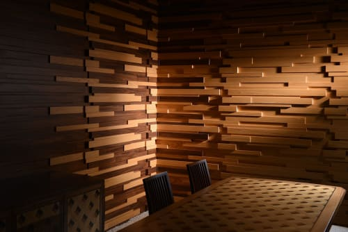 Wall Treatments by Mikodam Design seen at California - SAPA - Acoustic Wall Panel