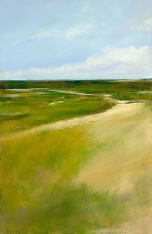 "Art & Wall Decor by YJ Contemporary seen at East Greenwich, East Greenwich - Anne Packard ""Inland Marsh"""