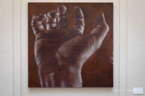 Paintings by Andrew Ramiro Tirado seen at Atrium Art, Tulsa - Poeta
