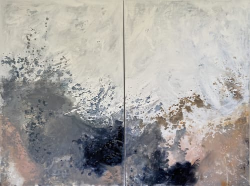 Paintings by Kathleen Rhee seen at Gold Coast, Gold Coast - 'Star Dust'