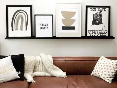 Art & Wall Decor by Swell Made Co. seen at Leisse Wilcox's Home, Cobourg - Art Prints