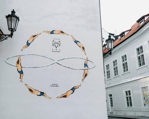 Infinity   Street Murals by David Mazanec