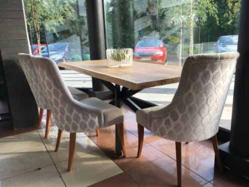 Tables by Eldest Ltd. seen at Private Residence, Leicester - Asgard