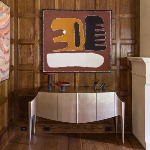 Furniture by Dougall Paulson seen at Private Residence, Melbourne - Noctua Credenza