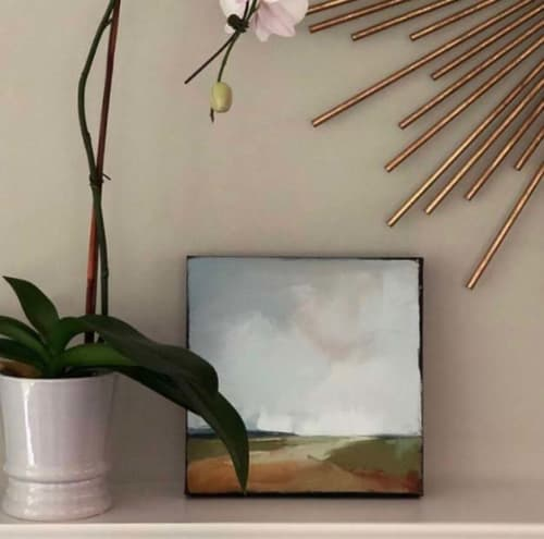 Paintings by Carrie Megan seen at Private Residence, Hanover - Cape Mist