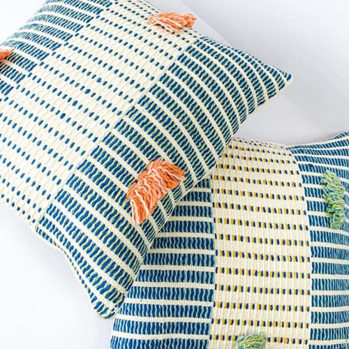 Pillows by Zuahaza seen at Private Residence, Barichara - Salento Pillows and Barichara Pillows