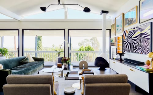 Interior Design by Studio Palomino seen at Private Residence, Los Angeles - Interior Design (MID-CENTURY HILLTOP)