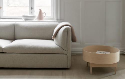 Furniture by Fogia seen at Studio Grey, København - Persimon Lamp, Grande Table, Retreat Sofa