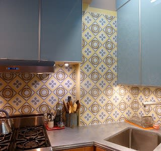Tiles by Avente Tile seen at Private Residence, New York - Romana Cement Tile