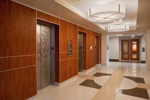Pendants by Ultralights Lighting seen at Grandview Medical Group Family Medicine Grandview Physicians Plaza, Birmingham - Genesis 17390 Acrylic Drum Pendant