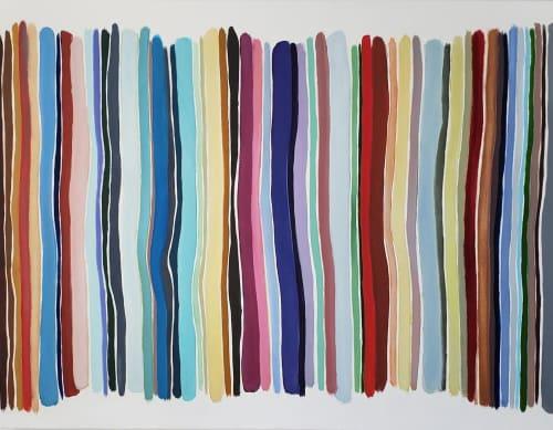 Paintings by John Platt seen at Private Residence, New York - 84th Street