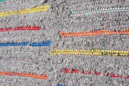 Wall Hangings by Doerte Weber seen at San Antonio, San Antonio - Handwoven Wallhanging: World in Many Colors