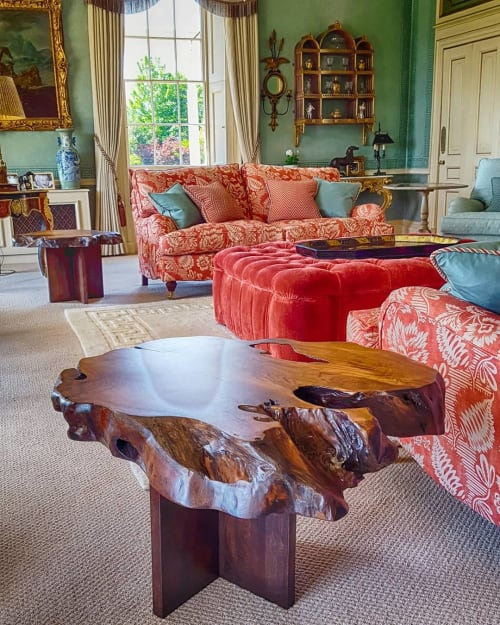 Tables by Handmade in Brighton seen at Private Residence - Live-Edge Coffee Tables