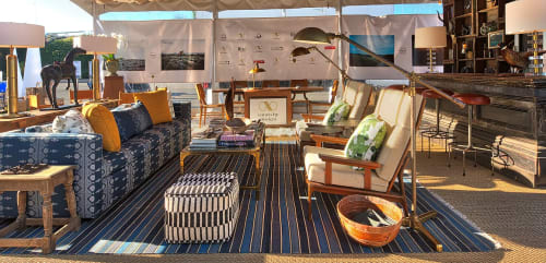 Interior Design by Josh Cooperman - Convo By Design seen at Barker Hangar, Santa Monica - Convo By Design - Social Lounge - WestEdge Design Fair 2016
