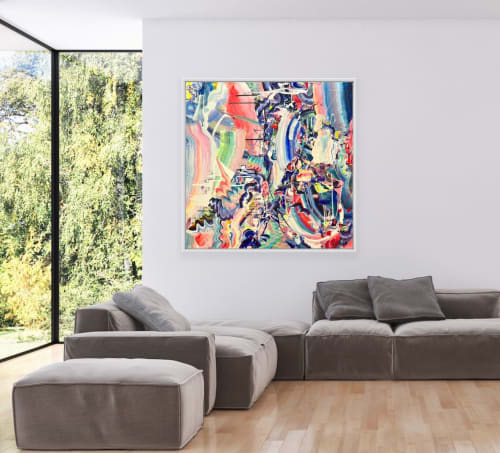 Paintings by Emma Hill seen at Private Residence, Woking - Together