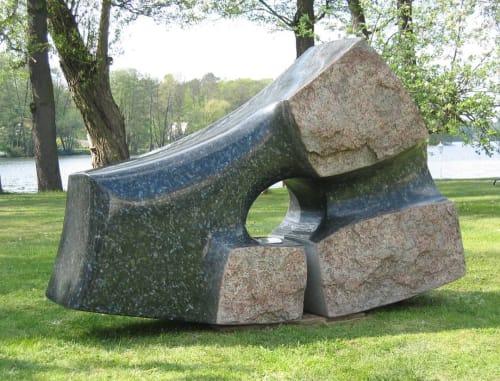 Public Sculptures by Raphael Beil seen at Berlin, Berlin - Skyhole