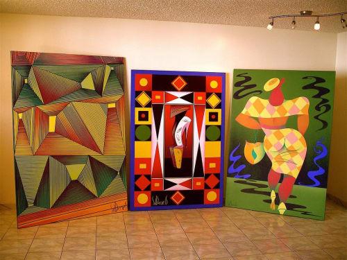 Sid Daniels - Paintings and Art