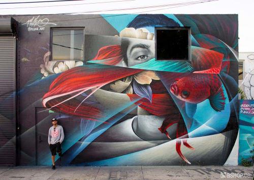 Fluke - Murals and Art