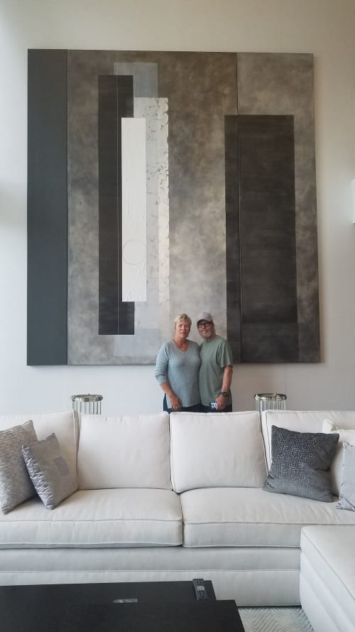 Paintings by casarietti studio seen at Private Residence, Fort Lauderdale - Gateway