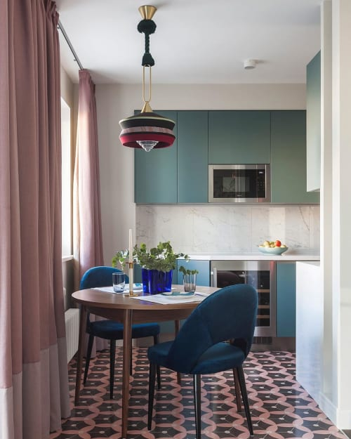 Pendants by Contardi Lighting seen at Private Residence, Moskva - Calypso