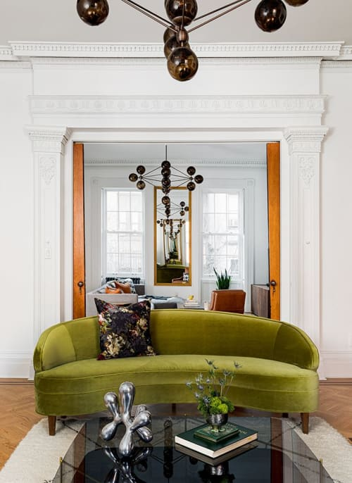 Interior Design by Ana Claudia Design seen at Private Residence, Jersey City - Jersey City Brownstone