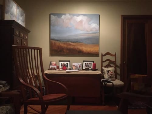 Paintings by Caroline Adams seen at Private Residence, Newark - Observe