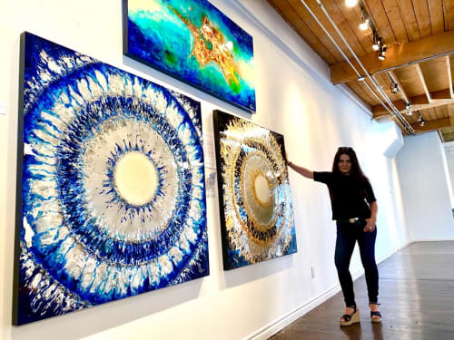Wall Jewelry by Robyn Camargo - Paintings and Art