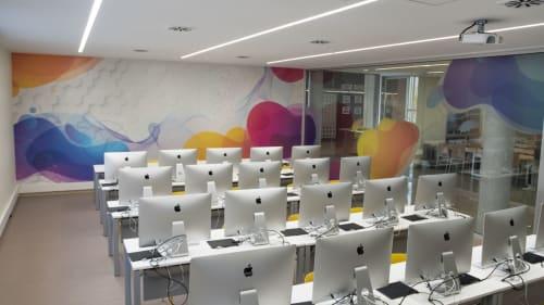 Interior Design by CactuSoup seen at Universitat, Lleida - Universitat de Lleida, UDL EPS