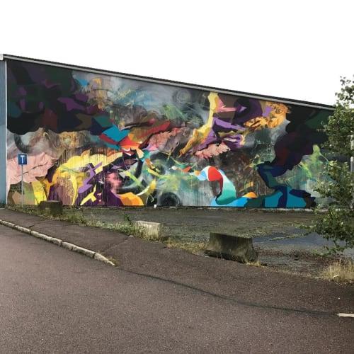 Street Murals by Ruskig Ångest seen at Ringön, Ringön - XXY