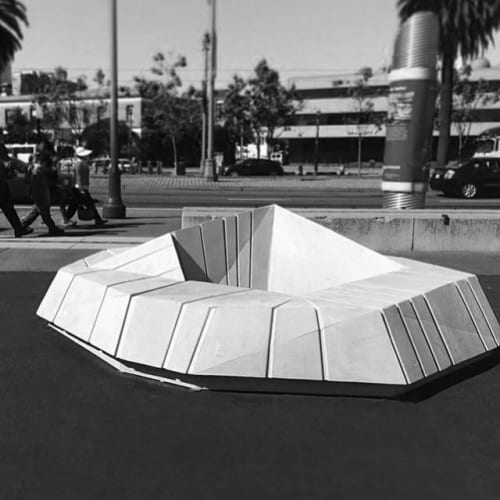 Public Sculptures by Concreteworks seen at San Francisco, San Francisco - Barnacles