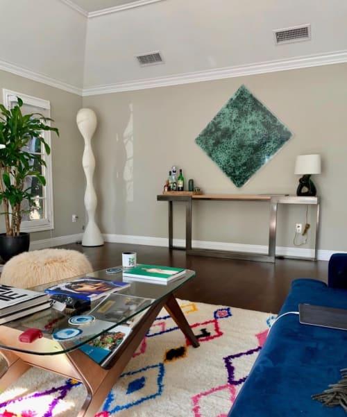 Paintings by Deborah Lynn Irmas seen at Private Residence, Santa Monica - Unbroken (love with envy)