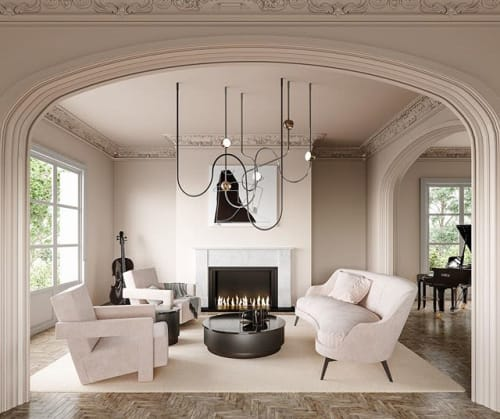Interior Design by Ovature Studios seen at Private Residence, Denver - Denver Residency