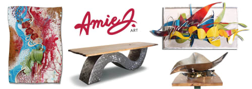 Furniture and Public Sculptures by Amie Jacobsen Art and Design