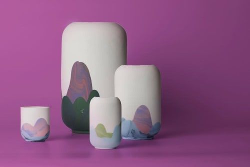 Vases & Vessels by R L Foote Design Studio seen at Private Residence, Melbourne - Hong Kong Vase - Sham Shui Po