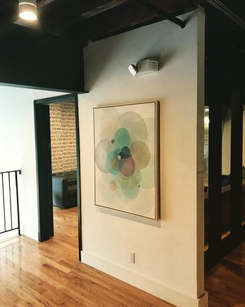 Paintings by Evan Venegas seen at Dobbin St, Brooklyn - Day Map