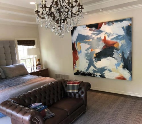Paintings by Hoitsma seen at Private Residence, Dallas - Landscape Painting