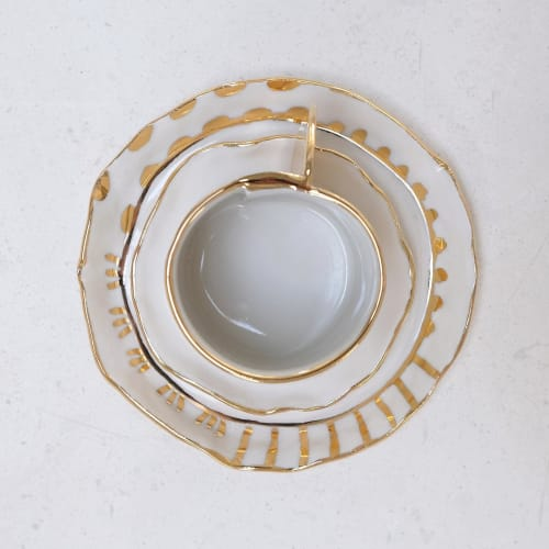 Tableware by from:fran seen at Private Residence, Brooklyn - Irregular Plate