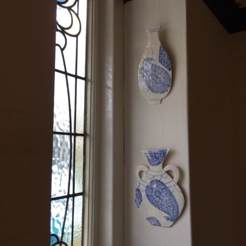 Art & Wall Decor by Gail Altschuler seen at Private Residence, London - Ceramic Display